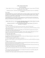 TIÊU CHUẨN QUỐC GIA TCVN 9140:2012 CÔNG TRÌNH THỦY LỢI - YÊU CẦU BẢO QUẢN MẪU NÕN KHOAN TRONG CÔNG TÁC KHẢO SÁT ĐỊA CHẤT CÔNG TRÌNH