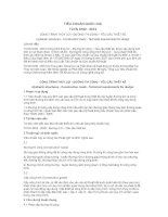 TIÊU CHUẨN QUỐC GIA TCVN 9162 : 2012 CÔNG TRÌNH THỦY LỢI - ĐƯỜNG THI CÔNG - YÊU CẦU THIẾT KẾ