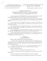 Thông tư 26 quy định về kich thước bàn ghế học sinh