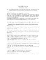 TIÊU CHUẨN QUỐC GIA TCVN 9206 : 2012 ĐẶT THIẾT BỊ ĐIỆN TRONG NHÀ Ở VÀ CÔNG TRÌNH CÔNG CỘNG - TIÊU CHUẨN THIẾT KẾ