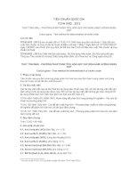TIÊU CHUẨN QUỐC GIA TCVN 9182 : 2012 THỦY TINH MÀU - PHƯƠNG PHÁP PHÂN TÍCH HÓA HỌC XÁC ĐỊNH HÀM LƯỢNG NIKEN OXIT