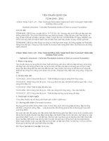TIÊU CHUẨN QUỐC GIA TCVN 9143 : 2012 CÔNG TRÌNH THỦY LỢI - TÍNH TOÁN ĐƯỜNG VIỀN THẤM DƯỚI ĐẤT CỦA ĐẬP TRÊN NỀN KHÔNG PHẢI LÀ ĐÁ