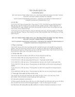 TIÊU CHUẨN QUỐC GIA TCVN 8722:2012 ĐẤT XÂY DỰNG CÔNG TRÌNH THỦY LỢI - PHƯƠNG PHÁP XÁC ĐỊNH CÁC ĐẶC TRƯNG LÚN ƯỚT CỦA ĐẤT TRONG PHÒNG THÍ NGHIỆM