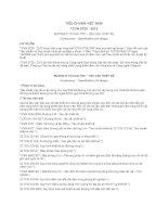 TIÊU CHUẨN VIỆT NAM TCVN 5729 : 2012 ĐƯỜNG Ô TÔ CAO TỐC – YÊU CẦU THIẾT KẾ
