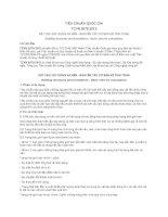 TIÊU CHUẨN QUỐC GIA TCVN 9379:2012 KẾT CẤU XÂY DỰNG VÀ NỀN - NGUYÊN TẮC CƠ BẢN VỀ TÍNH TOÁN