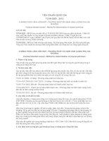 TIÊU CHUẨN QUỐC GIA TCVN 9203 : 2012 XI MĂNG POÓC LĂNG HỖN HỢP - PHƯƠNG PHÁP XÁC ĐỊNH HÀM LƯỢNG PHỤ GIA KHOÁNG