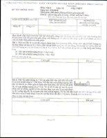 Đề thi và đáp án thi MTCT Quốc gia 2010 - Môn Vật Lý