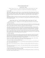 TIÊU CHUẨN QUỐC GIA TCVN 9137: 2012 CÔNG TRÌNH THUỶ LỢI - THIẾT KẾ ĐẬP BÊ TÔNG VÀ BÊ TÔNG CỐT THÉP