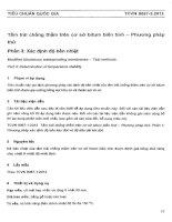 TIÊU CHUẨN QUỐC GIA TCVN 9076-3 : 2012 TẤM TRẢI CHỐNG THẤM TRÊN CƠ SỞ BITUM BIẾNTÍNH - PHƯƠNG PHÁP THỬ
