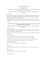 TIÊU CHUẨN QUỐC GIA TCVN 9391:2012 LƯỚI THÉP HÀN DÙNG TRONG KẾT CẤU BÊ TÔNG CỐT THÉP - TIÊU CHUẨN THIẾT KẾ, THI CÔNG LẮP ĐẶT VÀ NGHIỆM THU