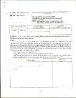 Đề thi và đáp án thi MTCT Quốc gia 2010 - Môn Sinh học