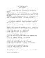 TIÊU CHUẨN QUỐC GIA TCVN 9114:2012 SẢN PHẨM BÊ TÔNG ỨNG LỰC TRƯỚC – YÊU CẦU KỸ THUẬT VÀ KIỂM TRA CHẤP NHẬN