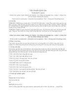TIÊU CHUẨN QUỐC GIA TCVN 9377-1:2012 CÔNG TÁC HOÀN THIỆN TRONG XÂY DỰNG - THI CÔNG VÀ NGHIỆM THU - PHẦN 1: CÔNG TÁC LÁT VÀ LÁNG TRONG XÂY DỰNG