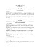 TIÊU CHUẨN QUỐC GIA TCVN 9142:2012 CÔNG TRÌNH THỦY LỢI - TRẠM BƠM TƯỚI, TIÊU NƯỚC - YÊU CẦU CUNG CẤP ĐIỆN VÀ ĐIỀU KHIỂN
