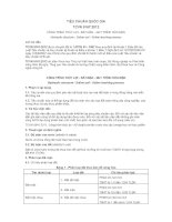 TIÊU CHUẨN QUỐC GIA TCVN 9167:2012 CÔNG TRÌNH THỦY LỢI - ĐẤT MẶN - QUY TRÌNH RỬA MẶN