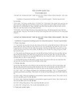 TIÊU CHUẨN QUỐC GIA TCVN 9358:2012 LẮP ĐẶT HỆ THỐNG NỐI ĐẤT THIẾT BỊ CHO CÁC CÔNG TRÌNH CÔNG NGHIỆP - YÊU CẦU CHUNG