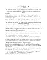 TIÊU CHUẨN QUỐC GIA TCVN 9357:2012 BÊ TÔNG NẶNG - PHƯƠNG PHÁP THỬ KHÔNG PHÁ HỦY - ĐÁNH GIÁ CHẤT LƯỢNG BÊ TÔNG BẰNG VẬN TỐC XUNG SIÊU ÂM