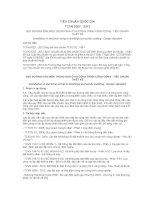 TIÊU CHUẨN QUỐC GIA TCVN 9207 : 2012 ĐẶT ĐƯỜNG DẪN ĐIỆN TRONG NHÀ Ở VÀ CÔNG TRÌNH CÔNG CỘNG - TIÊU CHUẨN THIẾT KẾ