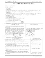 Giáo án Hình học 12 - Ban cơ bản (2 cột)
