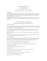 TIÊU CHUẨN QUỐC GIA TCVN 9392:2012 THÉP CỐT BÊ TÔNG - HÀN HỒ QUANG