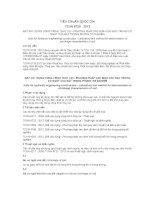 TIÊU CHUẨN QUỐC GIA TCVN 8720 : 2012 ĐẤT XÂY DỰNG CÔNG TRÌNH THỦY LỢI - PHƯƠNG PHÁP XÁC ĐỊNH CÁC ĐẶC TRƯNG CO NGÓT CỦA ĐẤT TRONG PHÒNG THÍ NGHIỆM