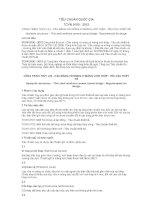 TIÊU CHUẨN QUỐC GIA TCVN 9150 : 2012 CÔNG TRÌNH THỦY LỢI - CẦU MÁNG VỎ MỎNG XI MĂNG LƯỚI THÉP - YÊU CẦU THIẾT KẾ