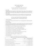 TIÊU CHUẨN QUỐC GIA TCVN 9065 : 2012 VẬT LIỆU CHỐNG THẤM - SƠN NHŨ TƯƠNG BITUM