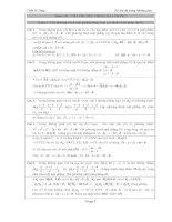 tọa độ không gian ôn thi đại học  ôn điểm 10 môn toán