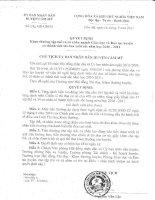 Quyết định 672 và DS khen thưởng
