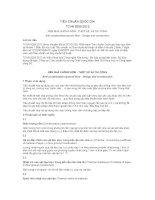 TIÊU CHUẨN QUỐC GIA TCVN 9359:2012 NỀN NHÀ CHỐNG NỒM - THIẾT KẾ  VÀ THI CÔNG