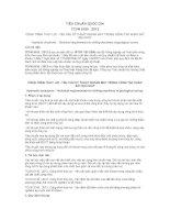 TIÊU CHUẨN QUỐC GIA TCVN 9155 : 2012 CÔNG TRÌNH THỦY LỢI - YÊU CẦU KỸ THUẬT KHOAN MÁY TRONG CÔNG TÁC KHẢO SÁT ĐỊA CHẤT