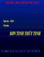 bai 3 son tinh - thuy tinh