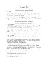 TIÊU CHUẨN QUỐC GIA TCVN 4447:2012 CÔNG TÁC ĐẤT - THI CÔNG VÀ NGHIỆM THU
