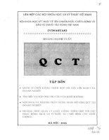 Hội khoa học kỹ thuật về tiêu chuẩn hóa, chất lượng và bảo vệ người tiêu dùng Việt Nam Tập 4