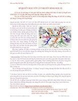 BÍ QUYẾT HỌC TỐT LÝ THUYẾT SINH HỌC 12