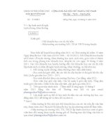 Số: 12/HKH ngày 12/9/2011 v/v lập danh sách đề nghị tuyên dương, khen thưởng (khẩn)