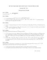 Đề thi HSG môn Toán 9-tham khảo