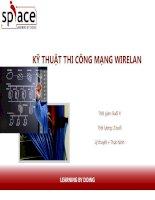 slide bài giảng - thi công mạng - sơ cấp bài  4 bài 4 kỹ thuật thi công mạng wire lan