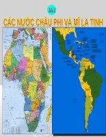 Bai 5:Cac nuoc chau Phi va Mi la tinh