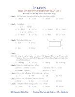 210 bài toán trắc nghiệm lớp 4 (có đáp án)