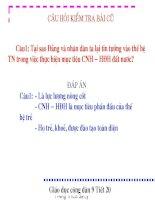 GDCD 9 bài 11 Trách nhiệm của thanh niên trong sự nghiệp CNH