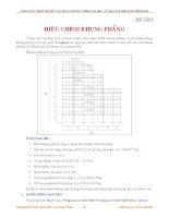 bài tập về hiệu chỉnh khung