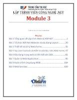 giáo trình lập trình viên công nghệ net module 3