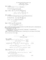 Một số đề và đáp án học sinh giỏi toán 8