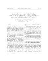 ĐẶC ĐIỂM ĐỊA CHẤT CÔNG TRÌNH NỀN ĐÊ SÔNG HỒNG KHU VỰC HÀ NỘI VÀ CÁC TAI BIẾN ĐỊA CHẤT LIÊN QUAN