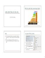 slike bài giảng ontology và web ngữ nghĩa - lê thanh hương chương  2 biểu diễn tầng dữ liệu xml