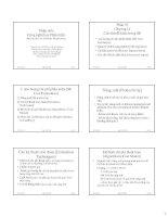 slike bài giảng kỹ thuật phần mềm - bộ môn cnpm (hust) chương 6 các chủ đề khác trong se