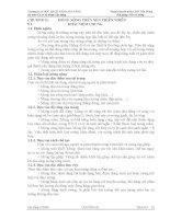 bài giảng nền và móng  chương ii móng nông trên nền thiên nhiên  khái niệm chung