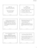 slike bài giảng kỹ thuật phần mềm - bộ môn cnpm (hust) chương 3 phương pháp xác định yêu cầu