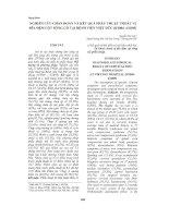 Nghiên cứu chẩn đoán và kết quả phẫu thuật thoát vị đĩa đệm cột sống cổ tại bệnh viện việt đức (8 2004  6 2005)